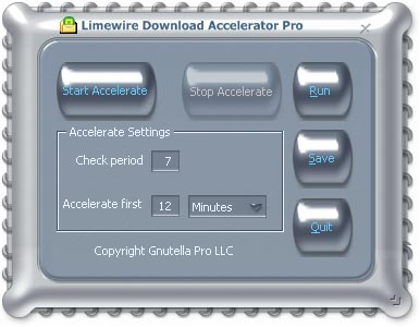 LimeWire Download Accelerator Pro
