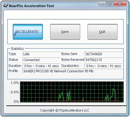 BearFlix Acceleration Tool