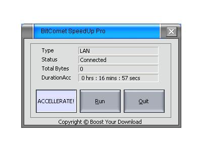 BitComet SpeedUp Pro