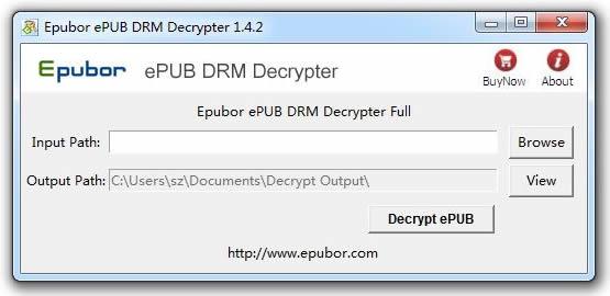 Epubor ePUB DRM Decrypter