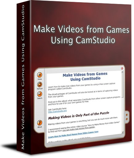Make Videos from Games Using CamStudio