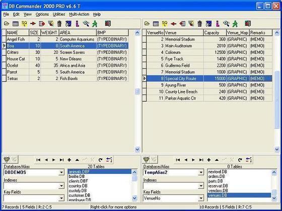 DB Commander 2000 Pro