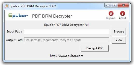Epubor PDF DRM Decrypter