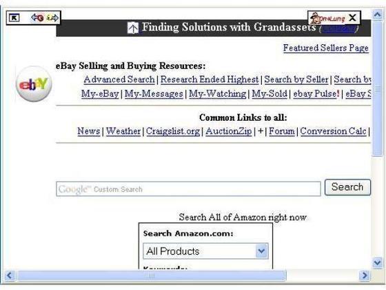 Amazon toolbar