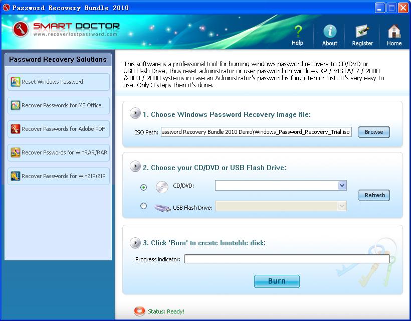 Password Recovery toolkit