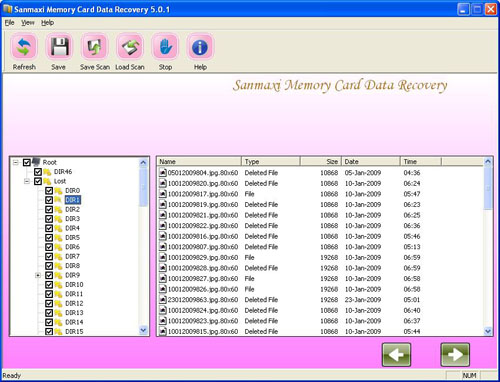 Mobile phones data recovery