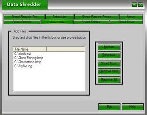 ZS Data Shredder