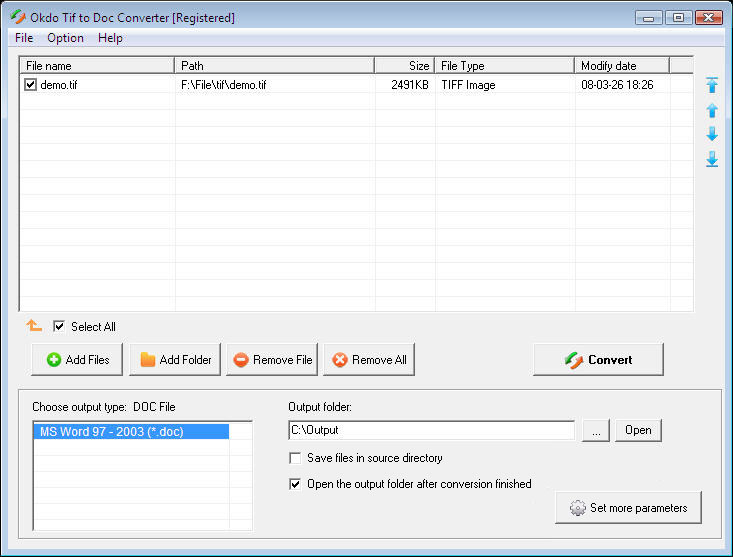 Download okdo tif to doc converter 3.8 free