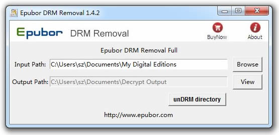 Epubor DRM Removal