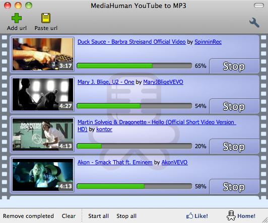 MediaHuman YouTube to MP3 Converter MAC
