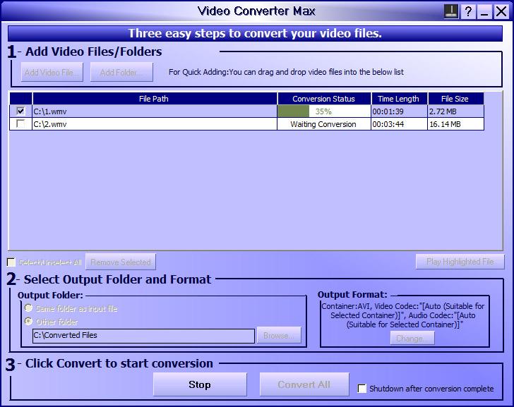 Video Converter Max ASW