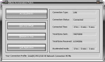 Blue eMule Acceleration