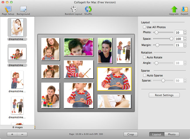 CollageIt for Mac