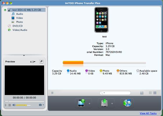 ImTOO iPhone Transfer Plus for Mac