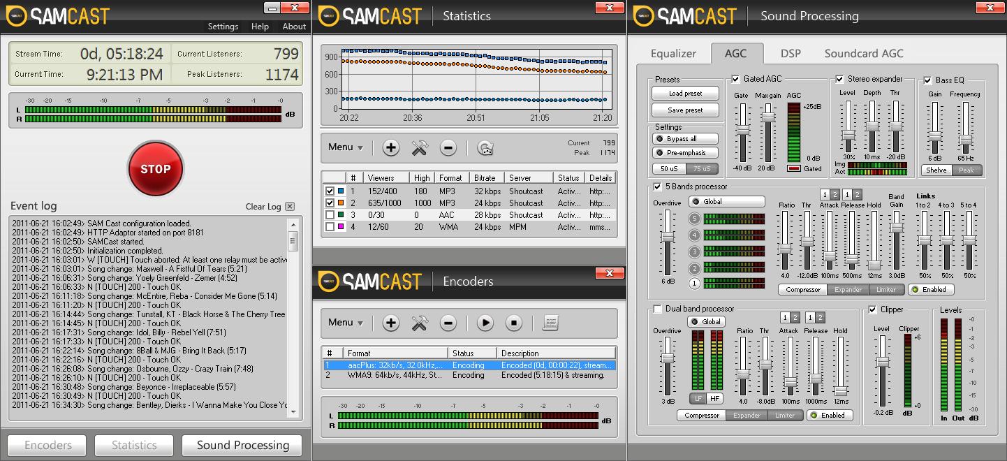 SAM Broadcaster - Download