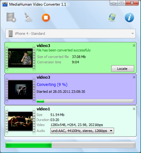 MediaHuman Video Converter