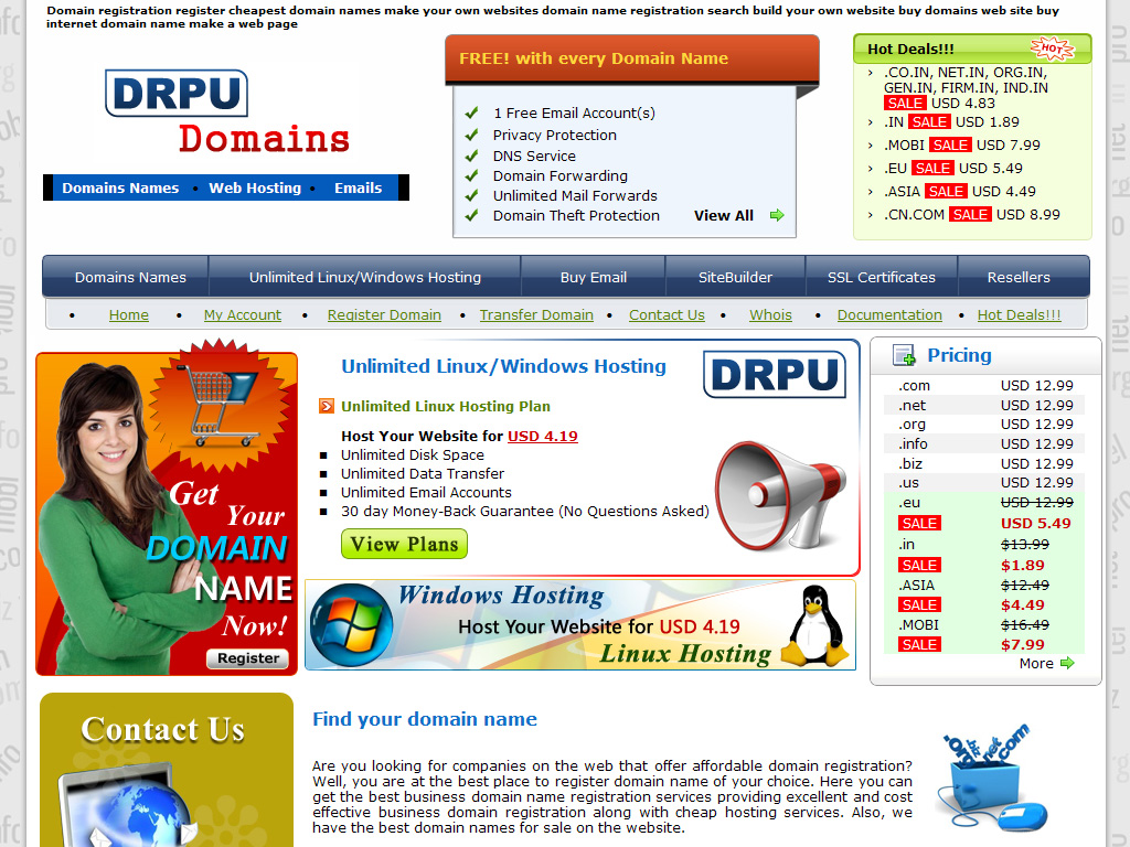 simplest cheapest free hosting services